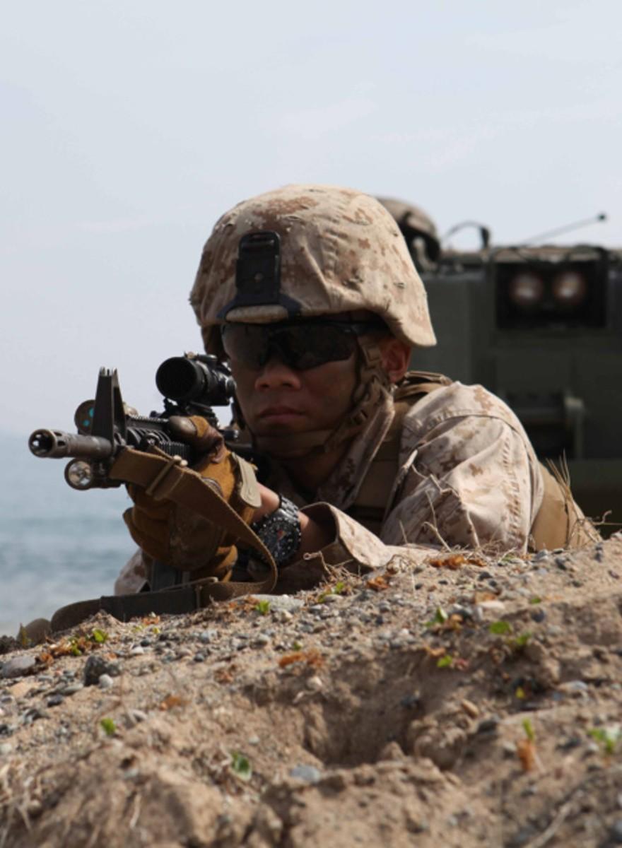 Fotos y vídeo del ensayo general de Corea del Sur para la guerra