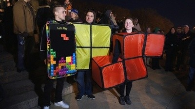 I Played the World's Largest Tetris Game