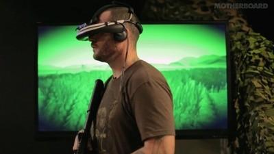 Veteranen kämpfen mit der virtuellen Realität gegen ihr Kriegstrauma