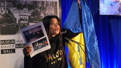 Am vorbit cu starul pop Ruslana, care a condus protestele din Ucraina