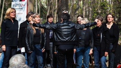 I Went to the Opening Party for Germany's First Lesbian Cemetery