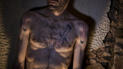 Greece's Muslim Immigrants Are Ashamed of Their Prison Tattoos