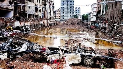 There Are Still Broken Bones Buried Under Bangladesh's Collapsed Sweatshop