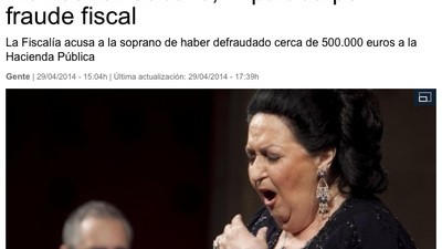 Las mil caras de Montserrat Caballé tras su imputación
