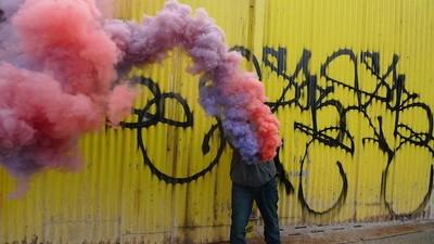 Conceptual Vandalism with Sabe Kst