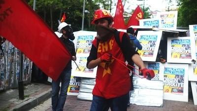 Primo maggio violento in Turchia