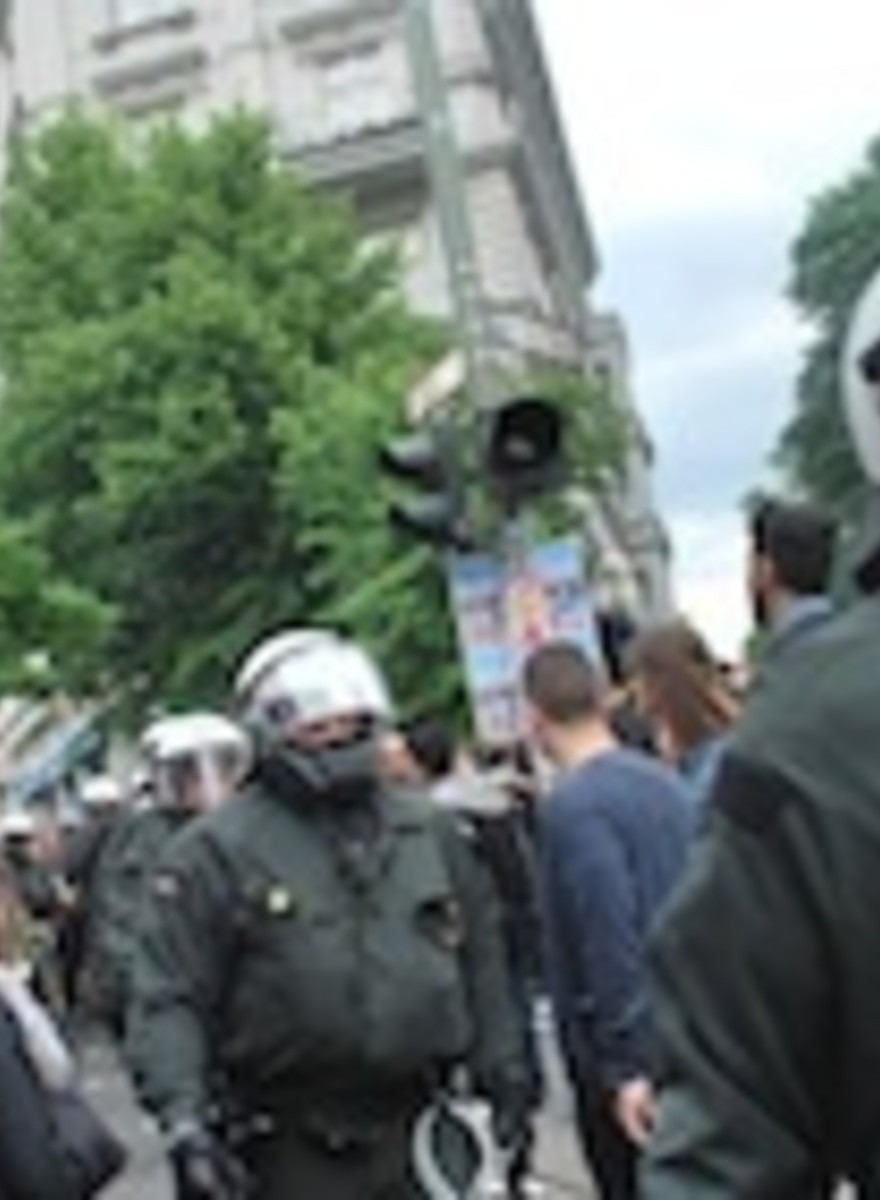 We Went to the May Day Protests in Germany
