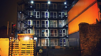 Sneaking Into Brighton's New Homeless Shipping Container Ghetto