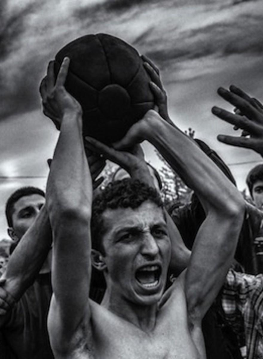 The No-Holds-Barred Georgian Folk Sport That Looks Like a Brawl