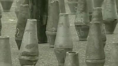 Les bombes sales de Bulgarie