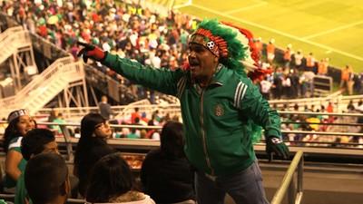 El 'Azteca' es el mayor fanático del Tricolor