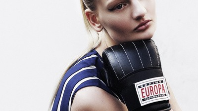 Fashion-Shoot: Sportstunde