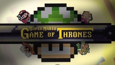 Game of Thrones hace el amor con Super Mario World