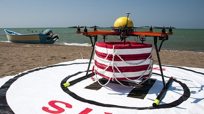 Iran's Life-Saving Drones May Be Coming to a Beach Near You