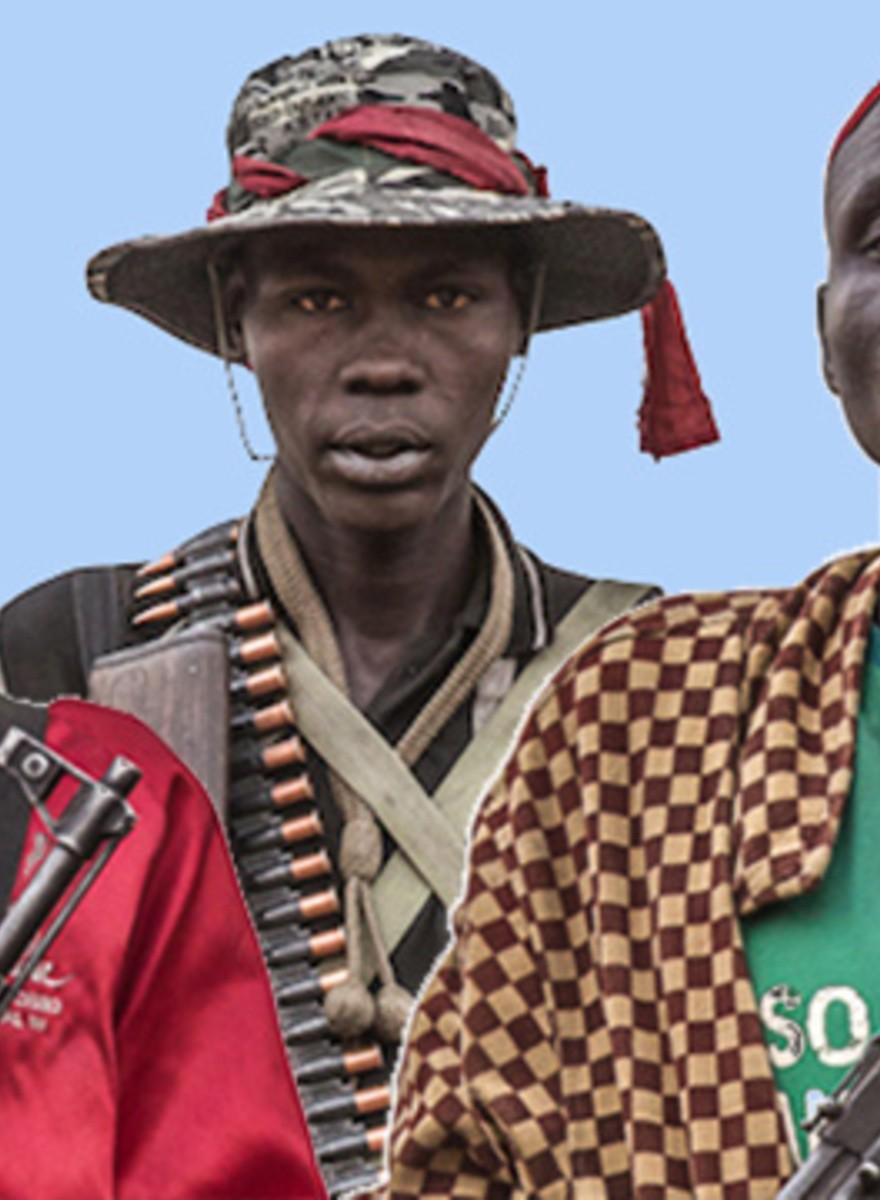 Portraits of Riek Machar's White Army
