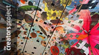 In Rotterdam is zojuist het grootste kunstwerk ter wereld afgerond