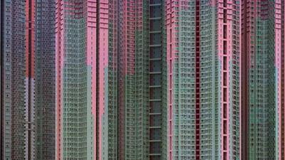 Foto's van de pracht en onmenselijkheid van Aziatische megasteden