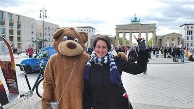 My Last Selfie with the Banned Street Performers in Berlin