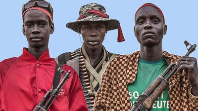 Portraits of Riek Machar's White Army