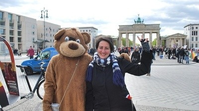 Ultimul meu selfie cu artiștii stradali interziși din Berlin
