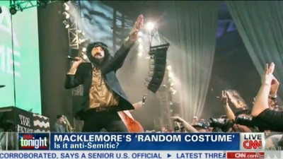 Macklemore 'Accidentally' Performed an Entire Show While Dressed Like a Jewish Person