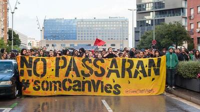 La guerra contra los Centros Sociales Autogestionados en Barcelona