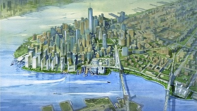 Could a Real Estate Development Save New York from Climate Change?