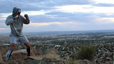 Dodger Montaño tiene el UFC como horizonte en Albuquerque