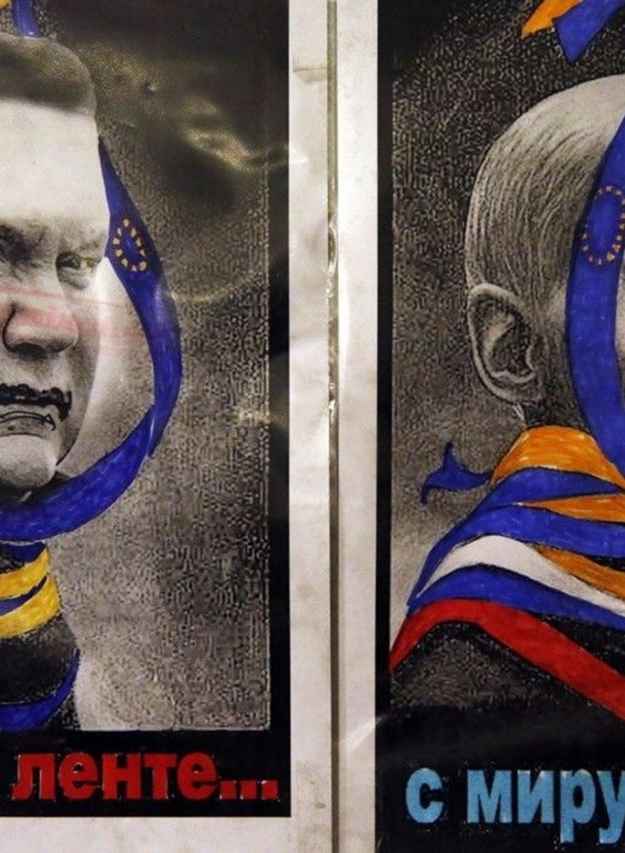 The Sardonic Protest Art of the Ukrainian Revolution