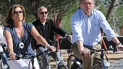 ¿Dónde están las bicis eléctricas de la Botella?