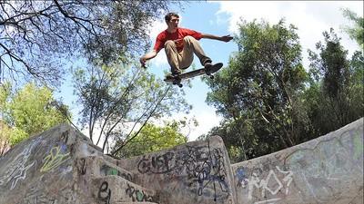 Dos gringos y algunos rusos vinieron a patinar a México
