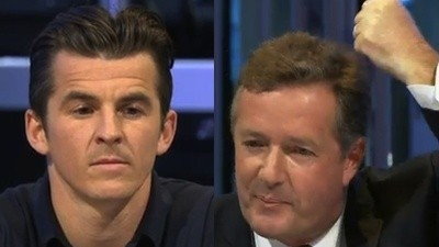 Joey Barton And Piers Morgan On Question Time