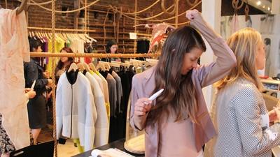 Meet the Artist Behind the BO-Scented Foldout in 'Harper's Bazaar'