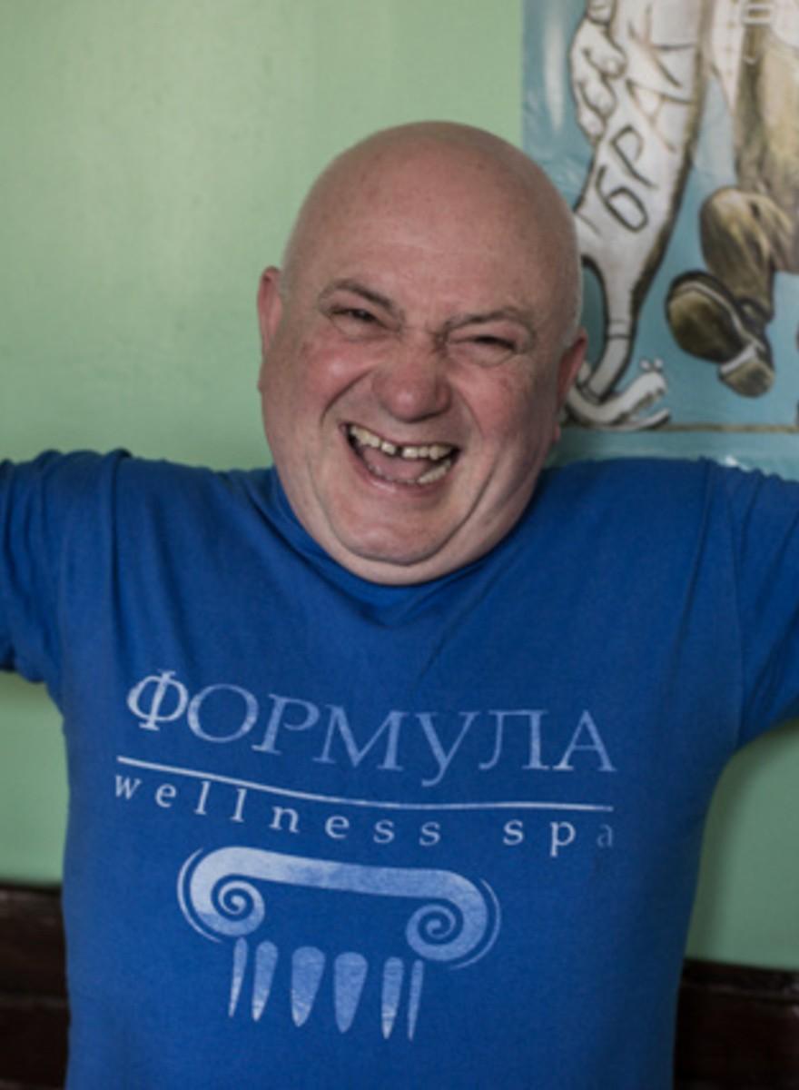 In badhuizen uit de Sovjettijd heb je de beste tijd