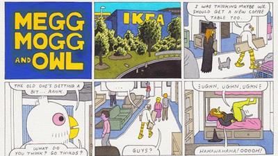 Megg, Mogg, & Owl Go to Ikea