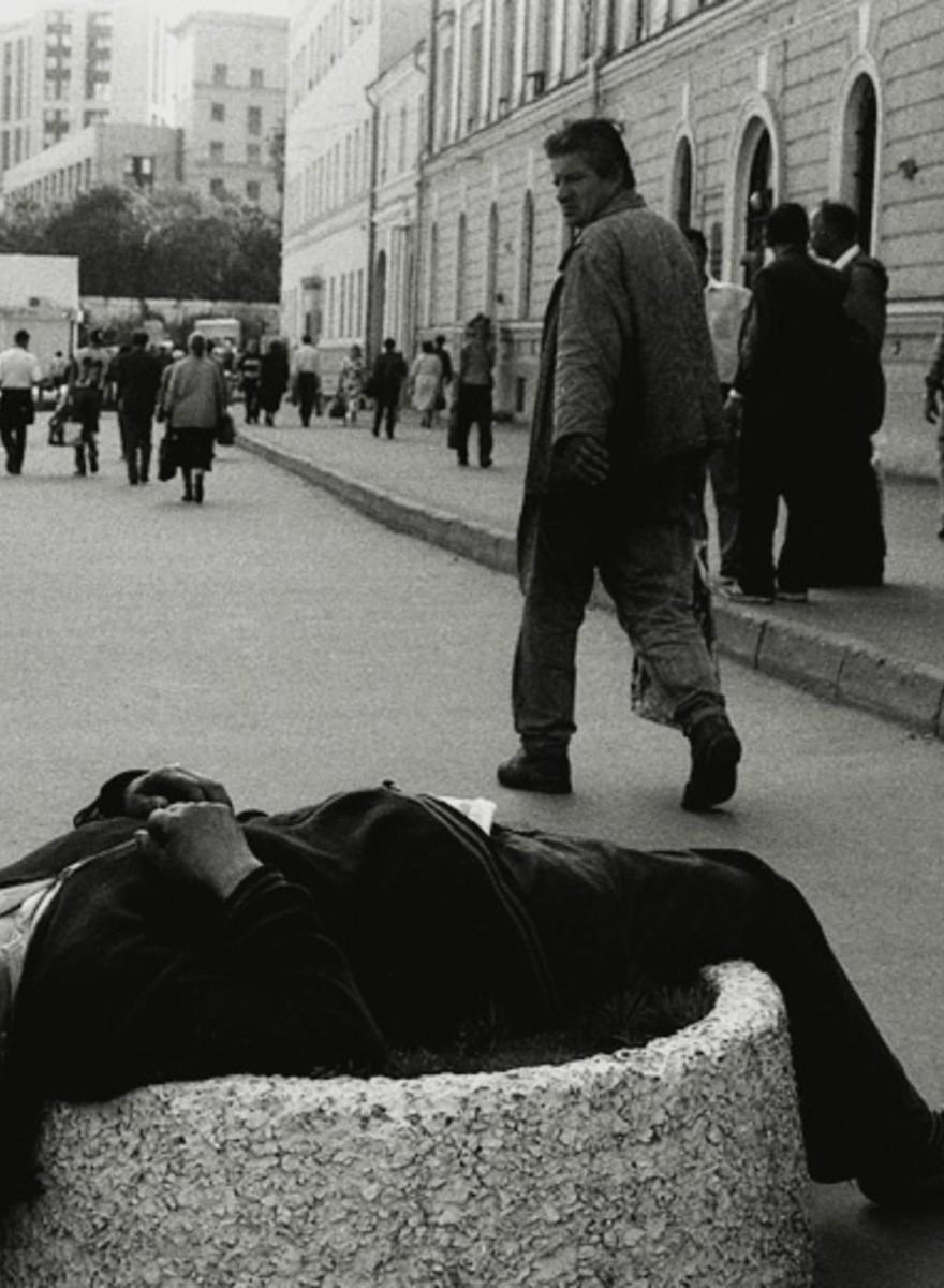 Vita di strada nella Mosca post-sovietica