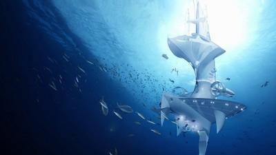 ¡Vamos a explorar el fondo del océano con un submarino gigante!
