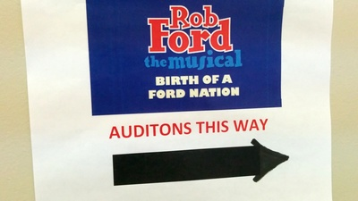 Auditions for 'Rob Ford: The Musical' Were Appropriately Bizarre