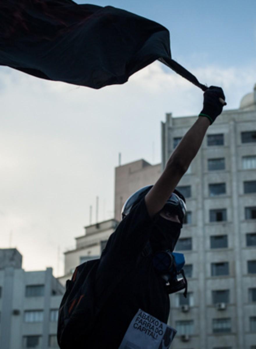 Las manifestaciones contra el mundial llegan a São Paulo