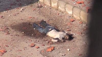 Distrugerea orașului Daraa