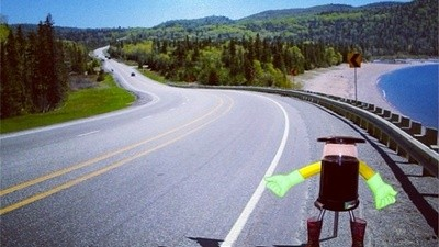 A Robot Is About to Try and Hitchhike Across Canada