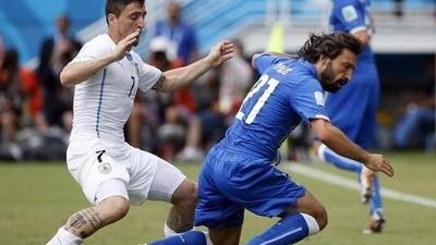 Play by play: Italia-Uruguay 0-1
