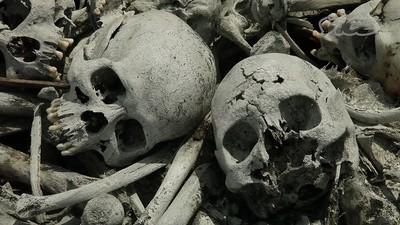 Le cimetière-bidonville