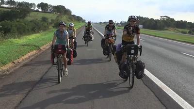Pelotas: En bicicleta al Mundial