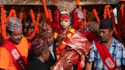Conoce a la diosa viviente de Nepal