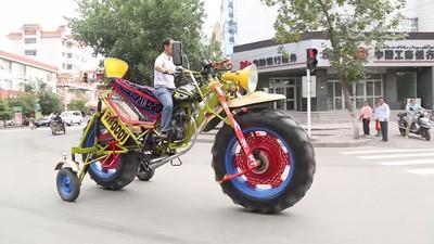 Les motos géantes