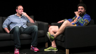 Competitive Eater Joey Chestnut on Chugging Milk and Shitting His Pants