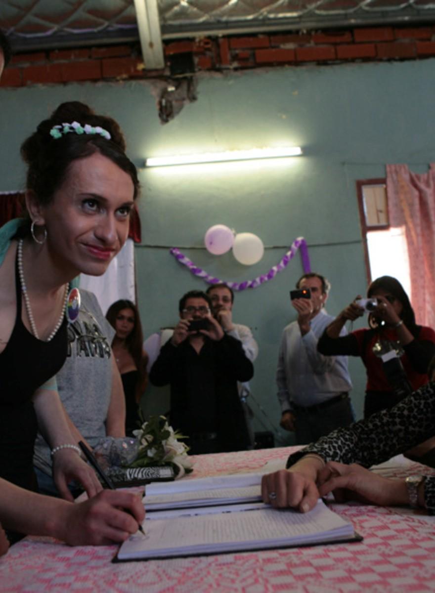 Una boda trans en la cárcel