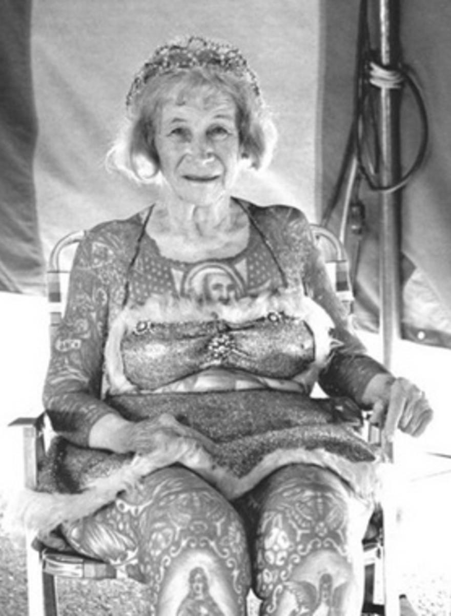 Randal Levenson ha fotografato i freak show nell'America degli anni Settanta