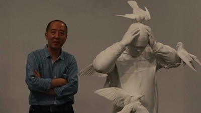Chinese Street Artist Zhang Dali Evolves in New York